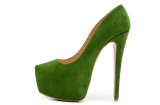 CL 16 cm green USES single shoes AAA
