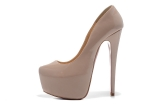 CL 16 cm nude patent leather shoes AAA