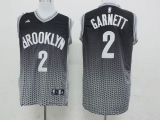Brooklyn Nets #2 Kevin Garnett Black Resonate Fashion Swingman Stitched NBA Jersey
