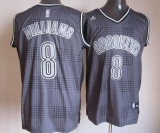 Brooklyn Nets #8 Deron Williams Black Rhythm Fashion Stitched NBA Jersey