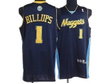 Denver Nuggets #1 Chauncey Billups Stitched Dark Blue NBA Jersey