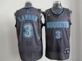 Denver Nuggets #3 Ty Lawson Black Rhythm Fashion Stitched NBA Jersey