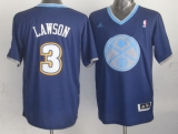 Denver Nuggets #3 Ty Lawson Dark Blue 2013 Christmas Day Swingman Stitched NBA Jersey