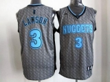 Denver Nuggets #3 Ty Lawson Grey Static Fashion Stitched NBA Jersey