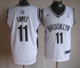 Brooklyn Nets #11 Brook Lopez White Home Stitched NBA Jersey