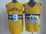 Denver Nuggets #9 Andre Iguodala Yellow Alternate Stitched NBA Jersey