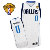 Dallas Mavericks 2011 Finals Patch #0 Shawn Marion Revolution 30 Whtie Stitched NBA Jersey