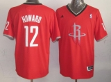 Houston Rockets #12 Dwight Howard Red 2013 Christmas Day Swingman Stitched NBA Jersey