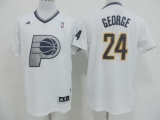 Indiana Pacers #24 Paul George White 2013 Christmas Day Swingman Stitched NBA Jersey