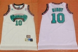 Memphis Grizzlies #10 Mike Bibby White TThrowback Stitched NBA Jersey