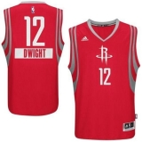 Houston Rockets #12 Dwight Howard Red 2014-15 Christmas Day Stitched NBA Jersey
