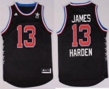 Houston Rockets #13 James Harden Black 2015 All Star Stitched NBA Jersey