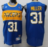 Indiana Pacers #31 Reggie Miller Light Blue Rookie Throwback Stitched NBA Jersey