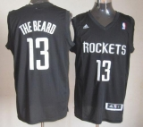 Houston Rockets #13 James Harden Black The Beard Stitched NBA Jersey