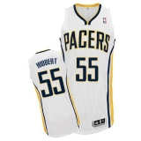 Indiana Pacers #55 Roy Hibbert White Home Stitched NBA Jersey