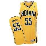 Indiana Pacers #55 Roy Hibbert Yellow Alternate Stitched NBA Jersey