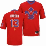 Houston Rockets #13 James Harden Red 2014 All Star Stitched NBA Jersey