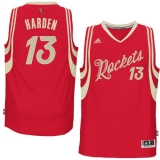 Houston Rockets #13 James Harden Red 2015-2016 Christmas Day Stitched NBA Jersey