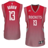 Houston Rockets #13 James Harden Red Resonate Fashion Swingman Stitched NBA Jersey