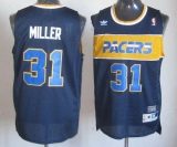 Mitchell and Ness Indiana Pacers #31 Reggie Miller Blue Stitched NBA Jersey