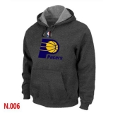 NBA Indiana Pacers Pullover Hoodie Dark Grey