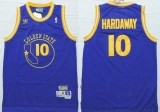 Golden State Warriors #10 Tim Hardaway Blue New Throwback Stitched NBA Jersey