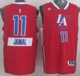 Los Angeles Clippers #11 Jamal Crawford Red 2014-15 Christmas Day Stitched NBA Jersey