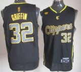 Los Angeles Clippers #32 Blake Griffin Black Electricity Fashion Stitched NBA Jersey