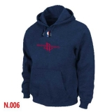 NBA Houston Rockets Pullover Hoodie Dark Blue