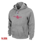 NBA Houston Rockets Pullover Hoodie Light Grey