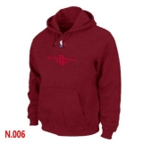 NBA Houston Rockets Pullover Hoodie Red