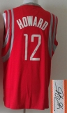 Revolution 30 Autographed Houston Rockets #12 Dwight Howard Red Stitched NBA Jersey
