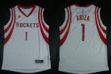 Revolution 30 Houston Rockets #1 Trevor Ariza White Road Stitched NBA Jersey