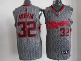 Los Angeles Clippers #32 Blake Griffin Grey Static Fashion Stitched NBA Jersey