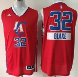 Los Angeles Clippers #32 Blake Griffin Red 2014-15 Christmas Day Stitched NBA Jersey