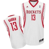 Revolution 30 Houston Rockets #13 James Harden White Home Stitched NBA Jersey