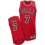 Revolution 30 Chicago Bulls #7 Tony Kukoc Red Stitched NBA Jersey