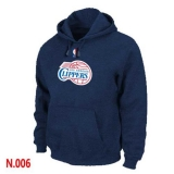NBA Los Angeles Clippers Pullover Hoodie Dark Blue