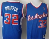 New Revolution 30 Los Angeles Clippers #32 Blake Griffin Blue Stitched NBA Jersey
