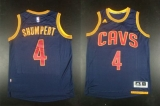 Revolution 30 Cleveland Cavaliers #4 Iman Shumpert Navy Blue CavFanatic Stitched NBA Jersey