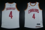 Revolution 30 Cleveland Cavaliers #4 Iman Shumpert White Stitched NBA Jersey