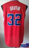 Revolution 30 Autographed Los Angeles Clippers #32 Blake Griffin Red Stitched NBA Jersey
