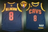 Revolution 30 Cleveland Cavaliers #8 Matthew Dellavedova Navy Blue CavFanatic The Finals Patch Stitched NBA Jersey