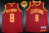 Revolution 30 Cleveland Cavaliers #8 Matthew Dellavedova Red The Finals Patch Stitched NBA Jersey