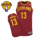 Revolution 30 Cleveland Cavaliers #13 Tristan Thompson Red The Finals Patch Stitched NBA Jersey