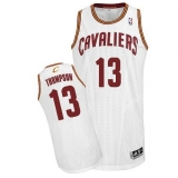 Revolution 30 Cleveland Cavaliers #13 Tristan Thompson White Stitched NBA Jersey
