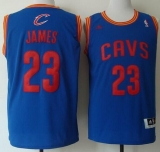 Revolution 30 Cleveland Cavaliers #23 LeBron James Light Blue Stitched NBA Jersey