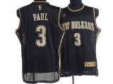 New Orleans Pelicans #3 Chris Paul Stitched Black Classical Style NBA Jersey