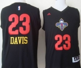 New Orleans Pelicans #23 Anthony Davis Black New Fashion Stitched NBA Jersey