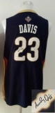 Revolution 30 Autographed New Orleans Pelicans #23 Anthony Davis Navy Stitched NBA Jersey